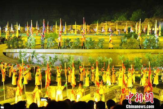 大型实景演出《康熙大典》八周年庆典全新舞美震撼问世