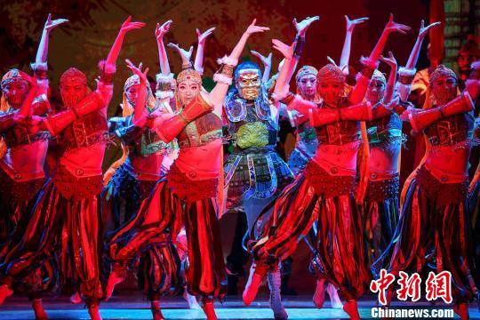 """中国舞剧《大梦敦煌》欧洲演出诉说""""丝路情""""(图)"""