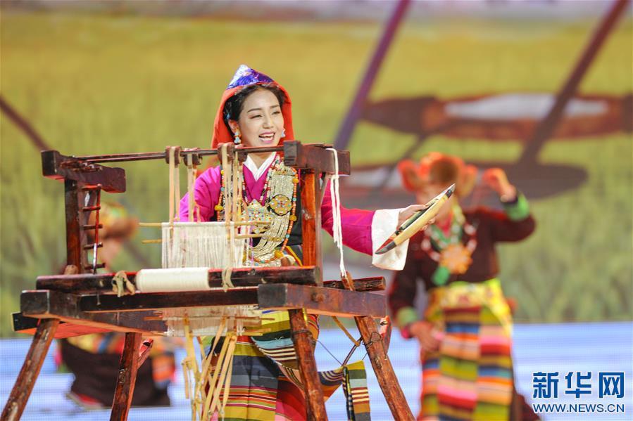 2019春节藏历新年联欢晚会在拉萨录制