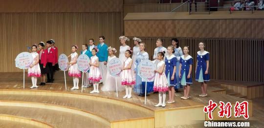 21支少儿合唱团参加了此次活动。供图