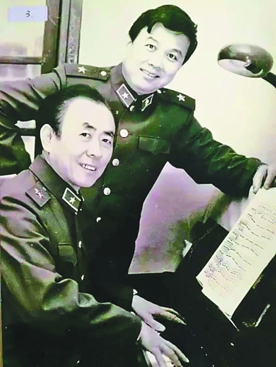 百灵鸟从蓝天飞过诞生记——歌曲《我爱你,中国》