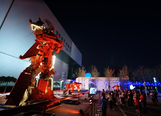 科技馆科幻音乐会为观众带来视听盛宴