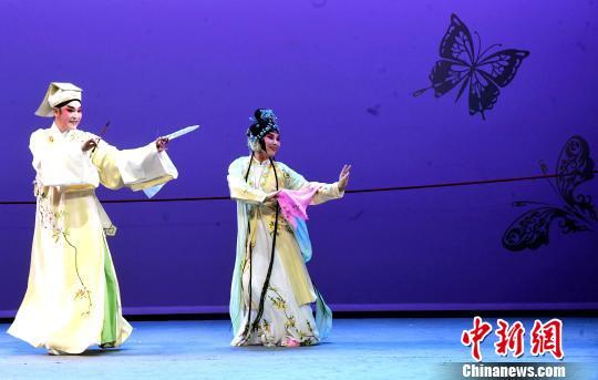 全国10家戏曲院团展开敬老演出闽剧《双蝶扇》送祝福