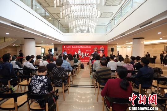 新版京剧《大唐贵妃》将参演二十一届中国上海国际艺术节