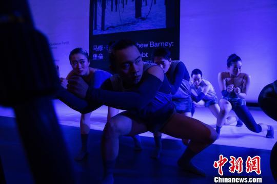 """第五届""""北京新舞蹈国际艺术节""""开幕"""