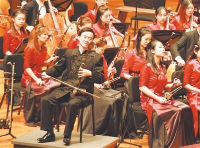 朱昌耀专场音乐会精彩上演 他的二胡诉说江南情愫