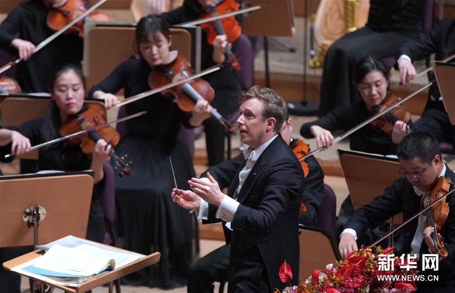 """上海交响乐团举行""""2020上海新年音乐会"""""""