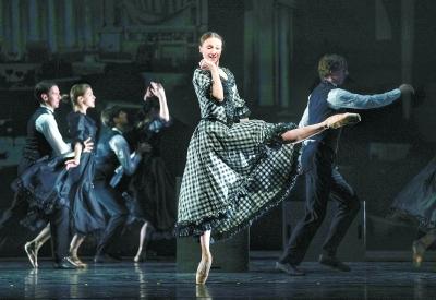 芭蕾女皇天桥连演三场