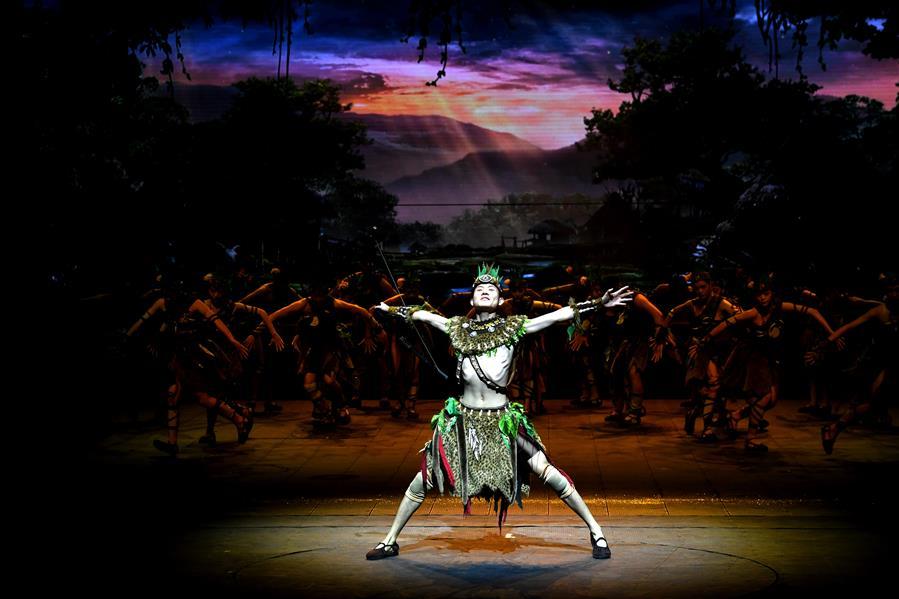 (文化)(1)大型歌舞《黄帝千古情》首演