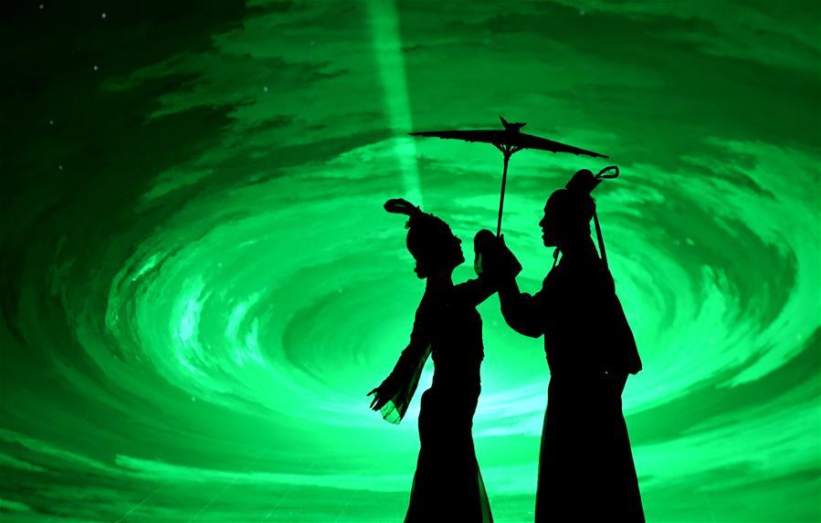 (文化)(4)大型歌舞《黄帝千古情》首演