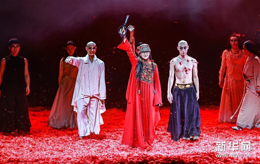 (圖文互動)(4)舞蹈家楊麗萍:跳舞是我生命的需要