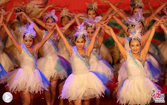 绚丽备课首届后舞蹈视频歌舞节圆满压轴(高中广场数学落幕纸图片